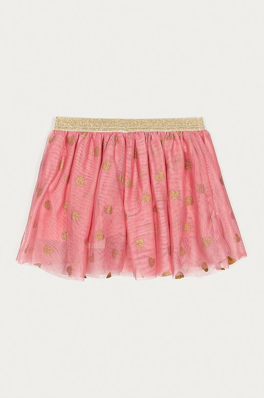 Name it - Spódnica dziecięca 80-110 cm czerwony róż