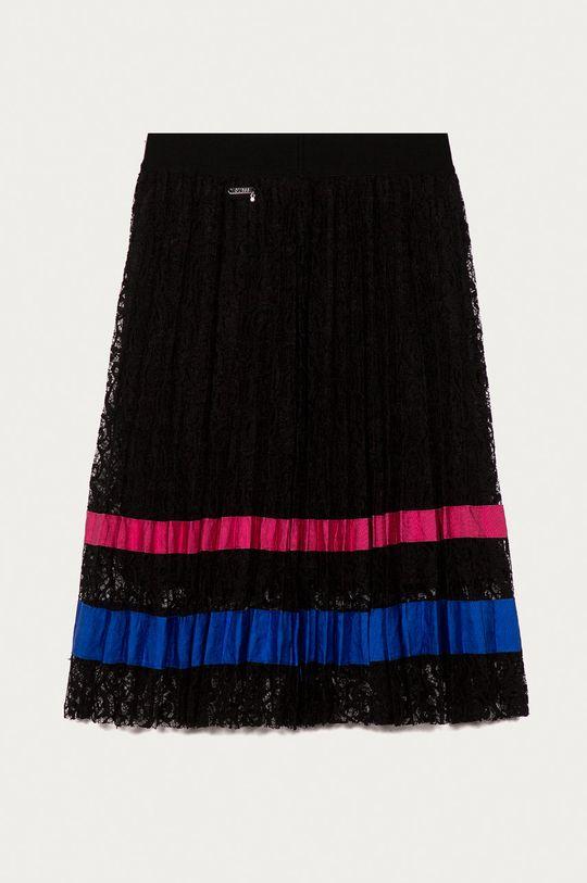 Guess Jeans - Dětská sukně 140-176 cm černá