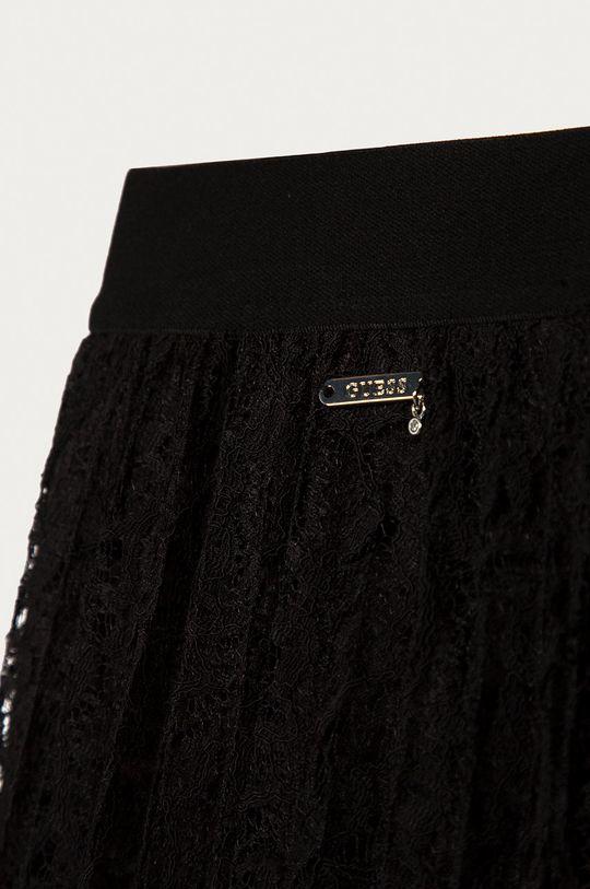 černá Guess Jeans - Dětská sukně 140-176 cm