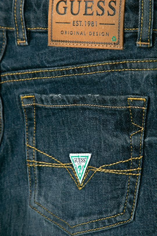 Guess Jeans - Jeans copii Reborrn 116-175 cm  40% Bumbac, 53% Lyocell, 6% Poliester , 1% Spandex