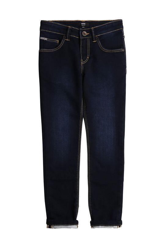 stalowy niebieski Boss - Jeansy dziecięce 116-152 cm Chłopięcy