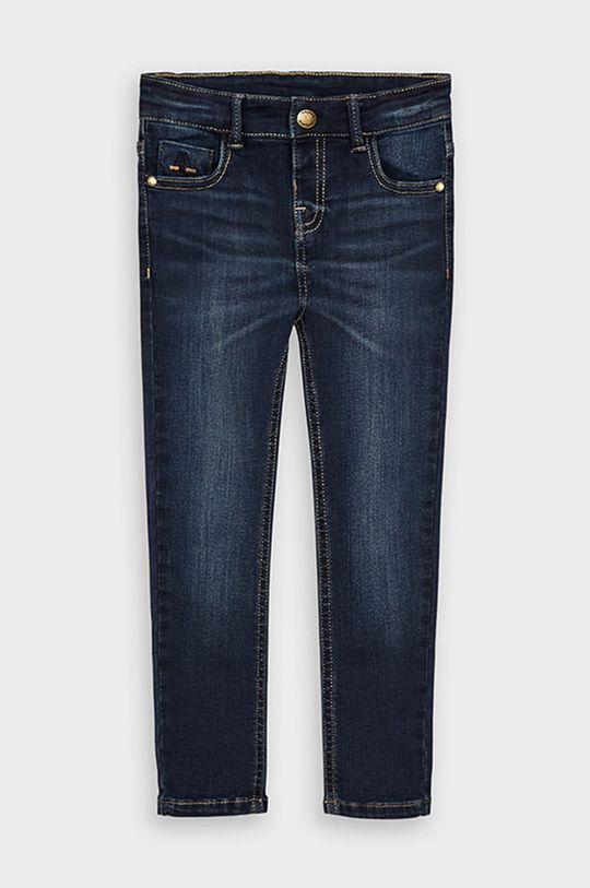 Mayoral - Jeans copii 104-134 cm albastru metalizat