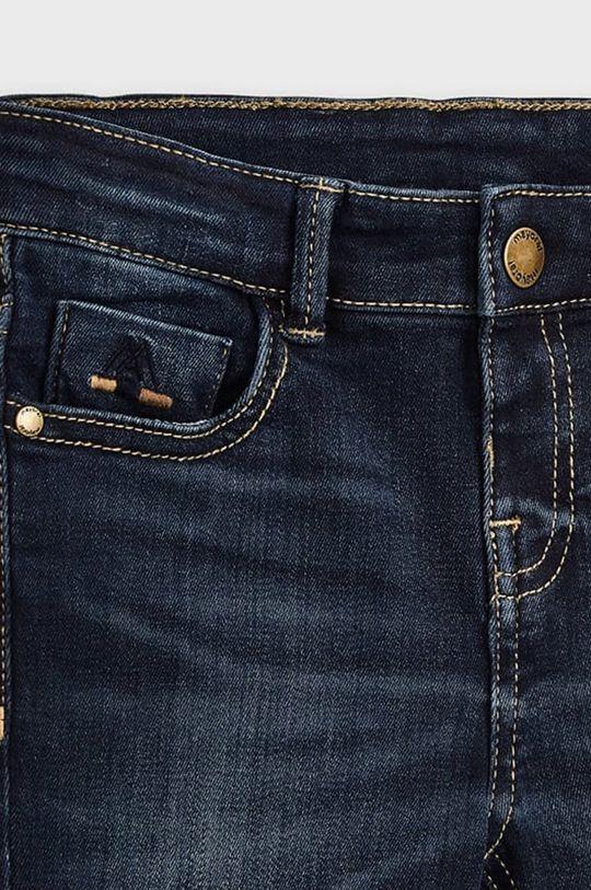 albastru metalizat Mayoral - Jeans copii 104-134 cm