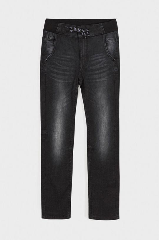 Mayoral - Jeans copii 128-172 cm negru