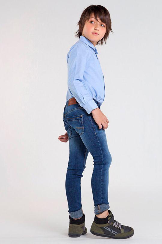 albastru metalizat Mayoral - Jeans copii 128-172 cm De băieți