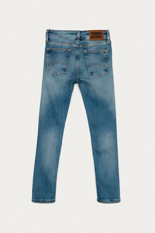 Tommy Hilfiger - Jeans copii Simon 128-176 cm  92% Bumbac, 4% Elastan, 4% Poliester