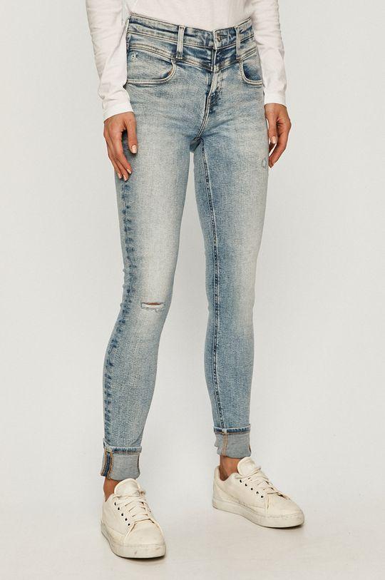 modrá Calvin Klein Jeans - Rifle CKJ 011 Dámsky