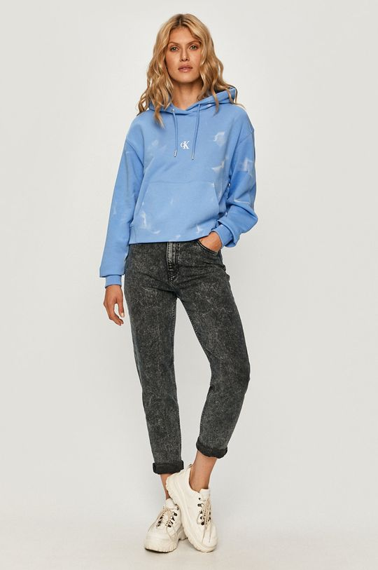 Calvin Klein Jeans - Jeansi Mom grafit