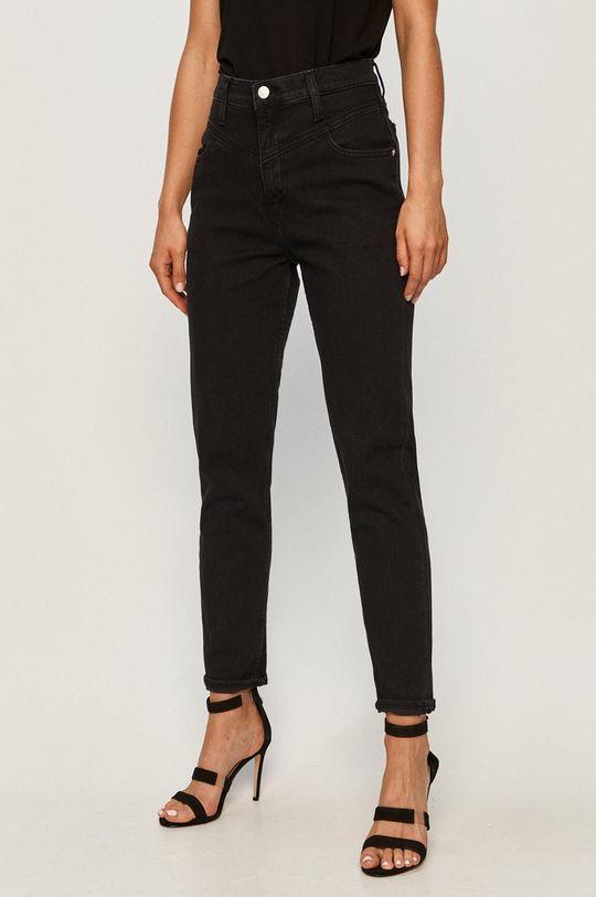 čierna Calvin Klein Jeans - Rifle Mom Jean Dámsky