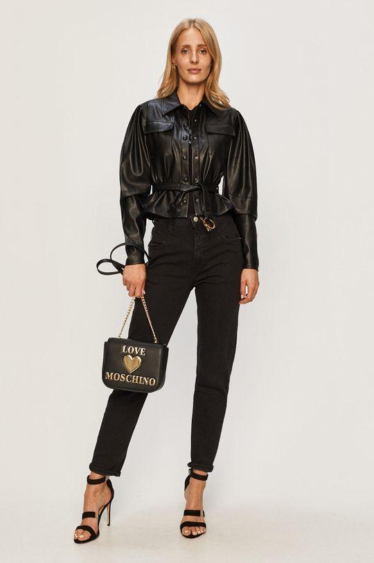 Calvin Klein Jeans - Rifle Mom Jean čierna