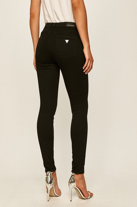 Guess Jeans - Jeansi Annette  Captuseala: 30% Bumbac, 70% Poliester  Materialul de baza: 92% Bumbac, 2% Elastan, 6% Elastomultiester