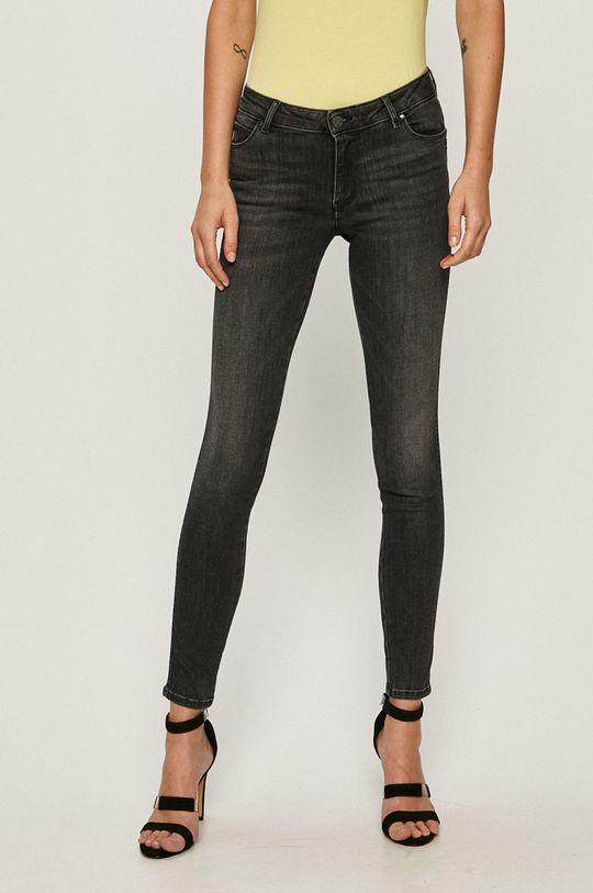 negru Guess Jeans - Jeansi Ultra Curve De femei