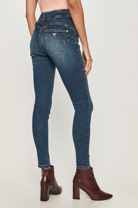 Guess Jeans - Jeansi  Captuseala: 35% Bumbac, 65% Poliester  Materialul de baza: 50% Bumbac, 5% Elastan, 40% Lyocell, 5% Poliester