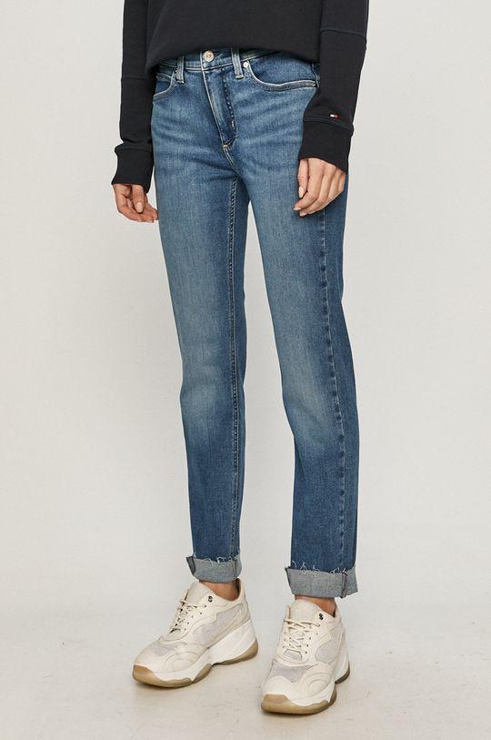 albastru Calvin Klein - Jeansi De femei
