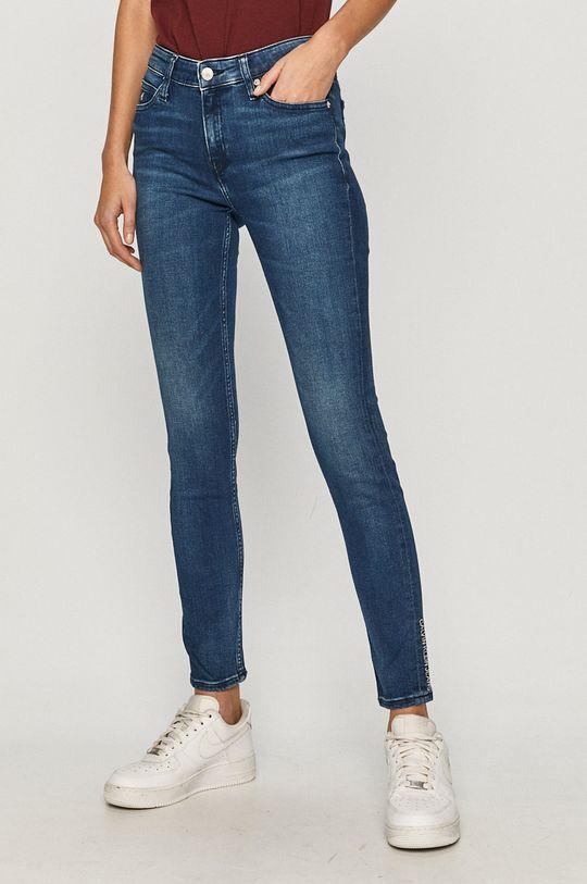 niebieski Calvin Klein Jeans - Jeansy Ckj 011 Damski
