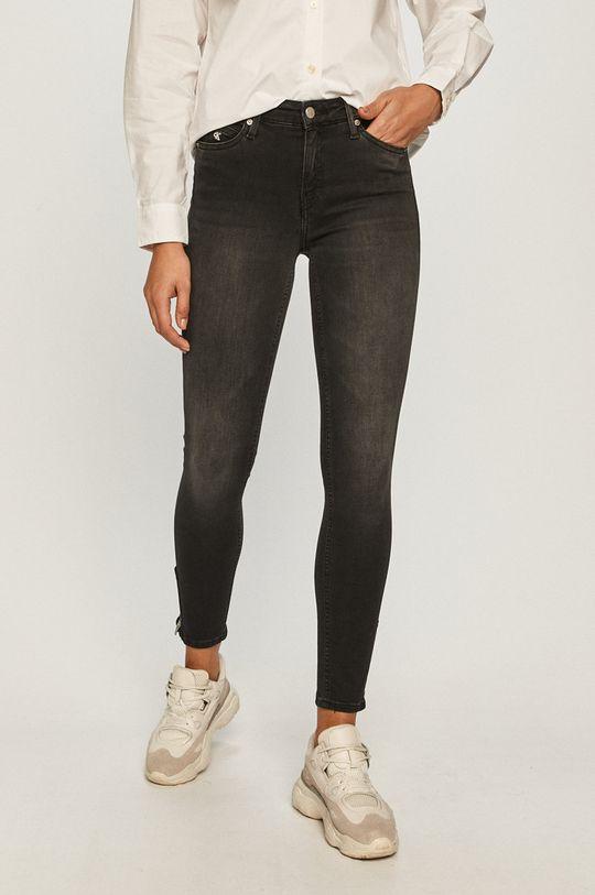 čierna Calvin Klein Jeans - Rifle CKJ 011 Dámsky