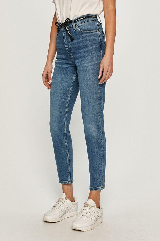 albastru Calvin Klein Jeans - Jeansi Mom Jean De femei