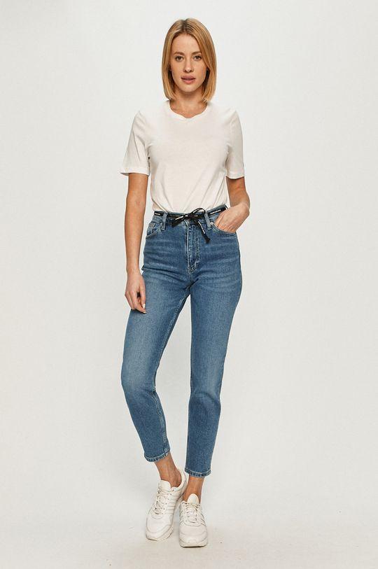 Calvin Klein Jeans - Jeansi Mom Jean albastru