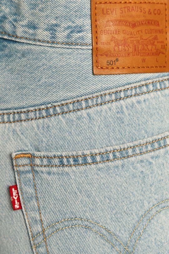blady niebieski Levi's - Jeansy 501 Crop