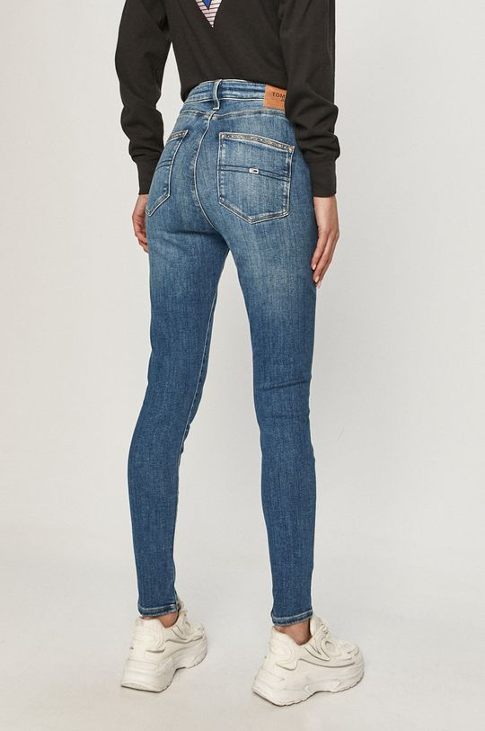 Tommy Jeans - Jeansi Sylvia  92% Bumbac, 2% Elastan, 6% Poliester