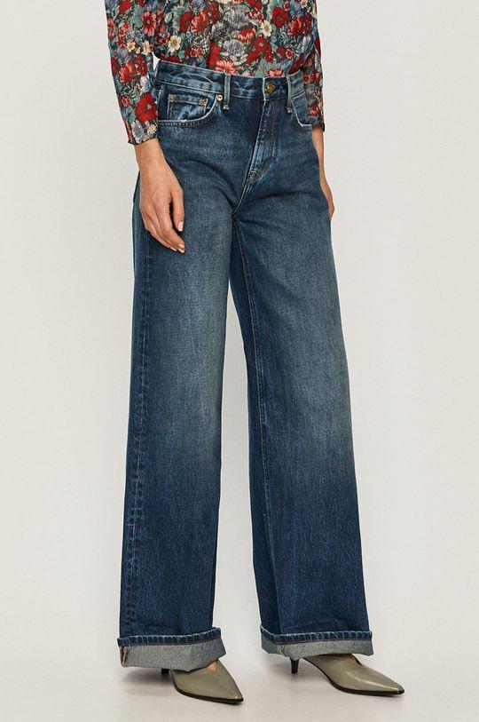 niebieski Pepe Jeans - Jeansy Hailey Damski