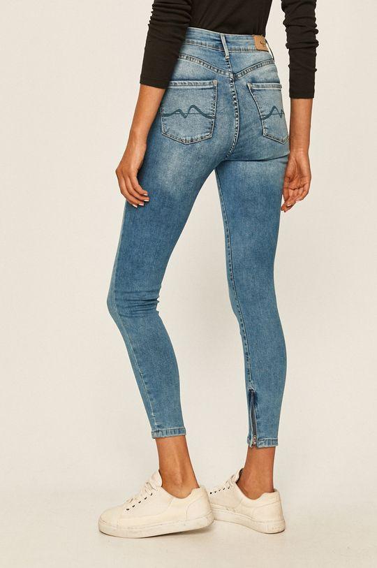 Pepe Jeans - Džíny Cher High  Podšívka: 35% Bavlna, 65% Polyester Hlavní materiál: 92% Bavlna, 2% Elastan, 6% Polyester