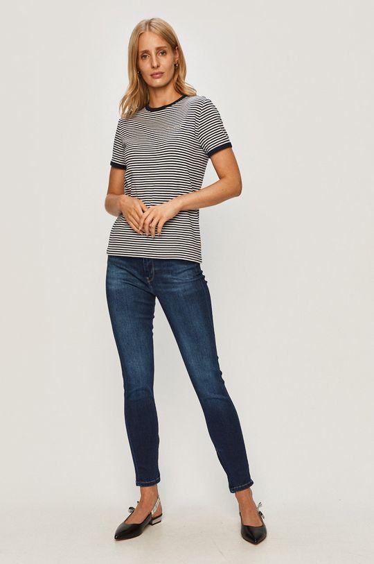 Pepe Jeans - Jeansy Cher High niebieski
