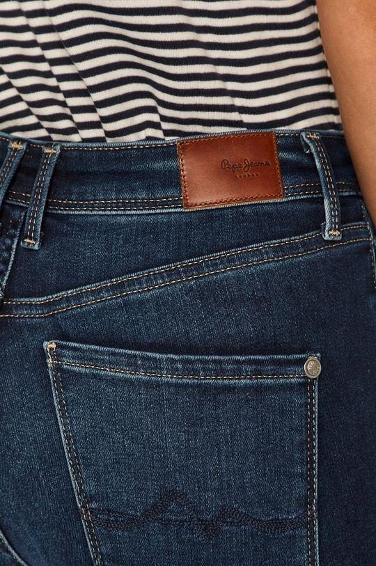 niebieski Pepe Jeans - Jeansy Cher High