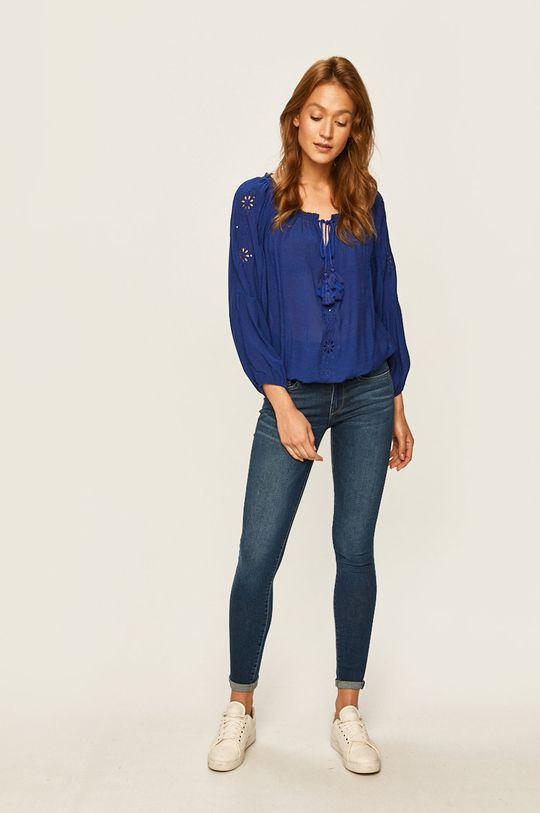 Pepe Jeans - Jeansi Pixie albastru