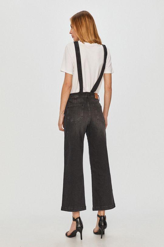 Pepe Jeans - Jeansi Claire  Captuseala: 38% Bumbac, 62% Poliester  Materialul de baza: 79% Bumbac, 1% Elastan