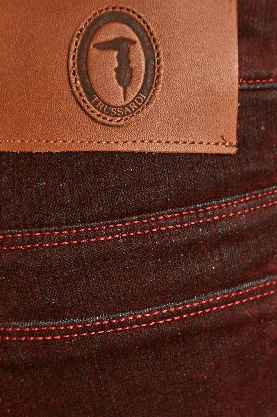 kaštanová Trussardi Jeans - Kalhoty
