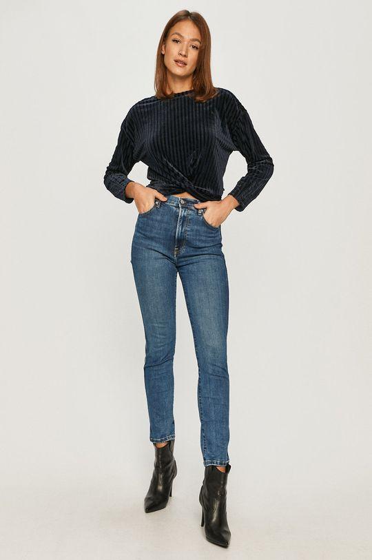 Pepe Jeans - Jeansi Dua 80's X Dua Lipa albastru