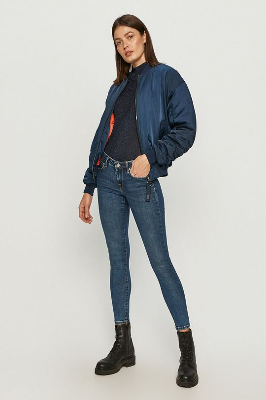 Pepe Jeans - Džíny x Dua Lipa modrá