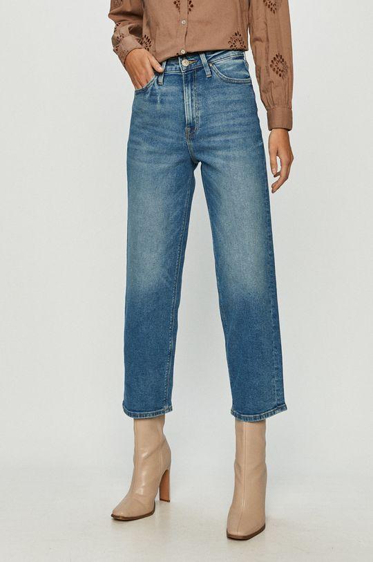 albastru deschis Lee - Jeansi Wide Leg De femei