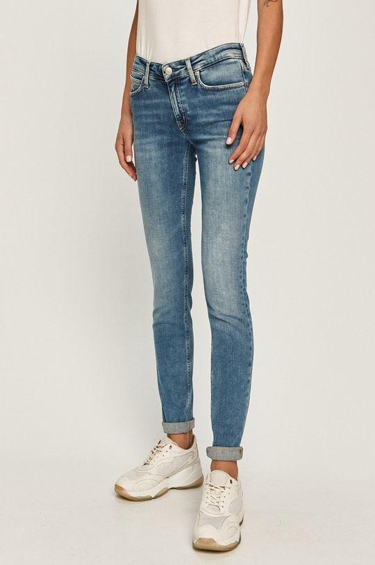 modrá Calvin Klein Jeans - Rifle Dámsky