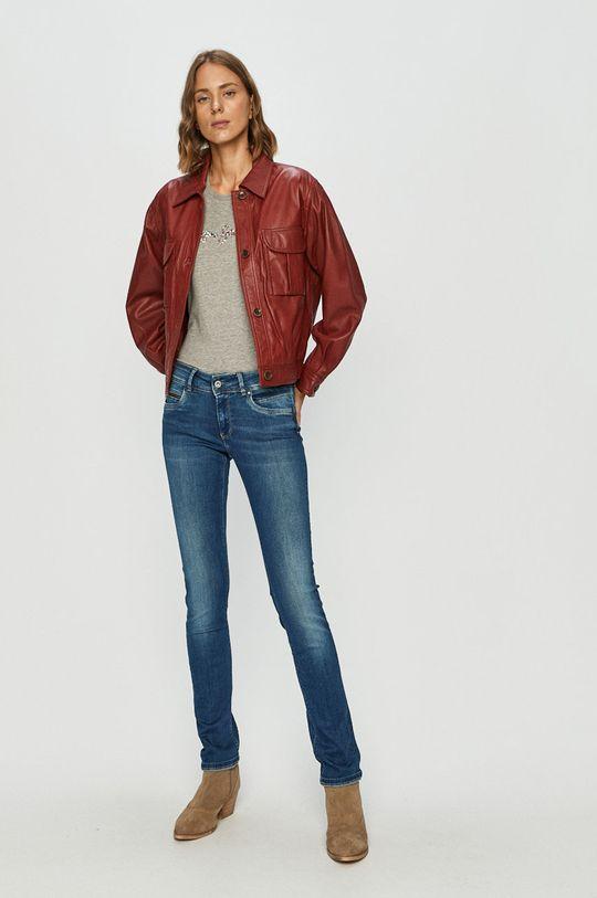 Pepe Jeans - Rifle New Brooke modrá