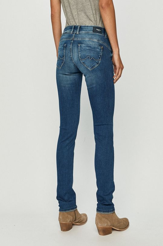 Pepe Jeans - Rifle New Brooke  Základná látka: 92% Bavlna, 2% Elastan, 6% Polyester Prvky: 35% Bavlna, 65% Recyklovaný polyester