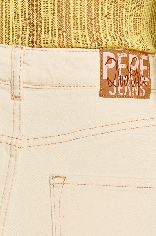 krémová Pepe Jeans - Rifle Rachel x Dua Lipa