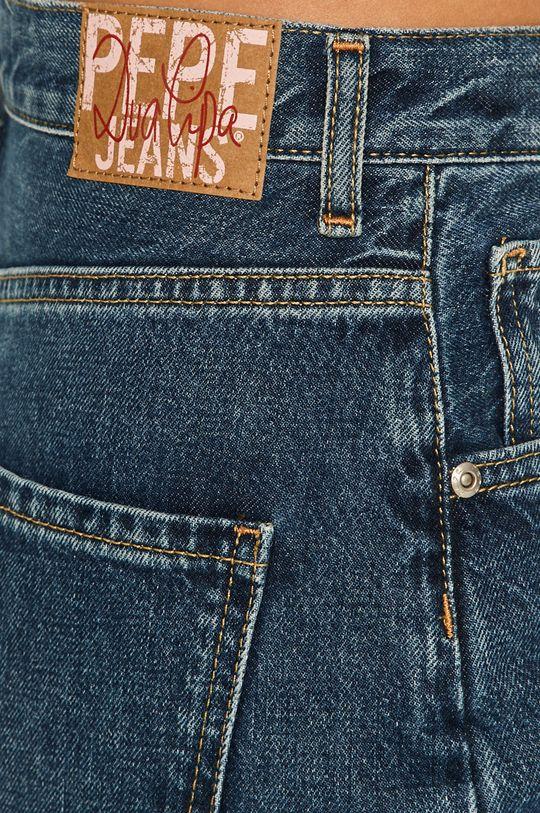 modrá Pepe Jeans - Rifle Rachel Blue x Dua Lipa