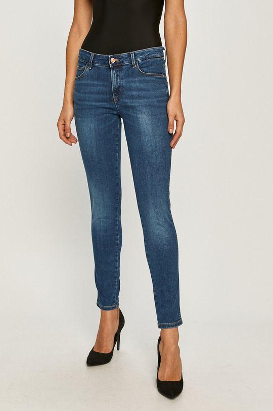 albastru Guess - Jeansi Curve X De femei