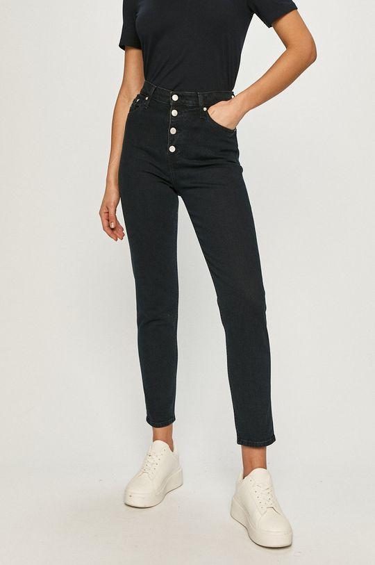 tmavomodrá Calvin Klein Jeans - Rifle Dámsky