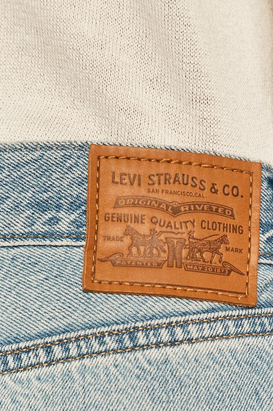 niebieski Levi's - Jeansy Loose Straight
