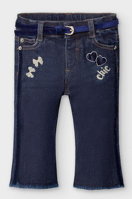 albastru metalizat Mayoral - Jeans copii 80-98 cm De fete