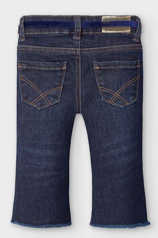 Mayoral - Jeans copii 80-98 cm albastru metalizat