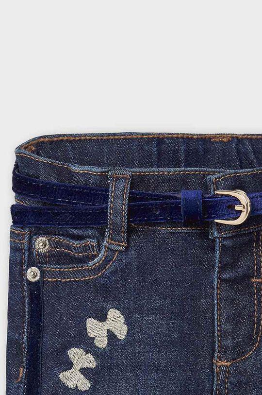 Mayoral - Jeans copii 80-98 cm  Materialul de baza: 84% Bumbac, 2% Elastan, 14% Poliester  Alte materiale: 100% Poliuretan