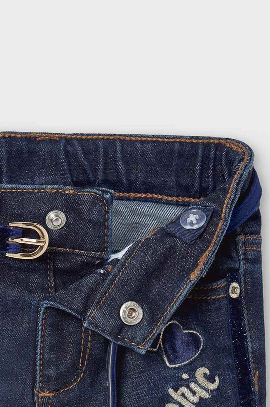 albastru metalizat Mayoral - Jeans copii 80-98 cm