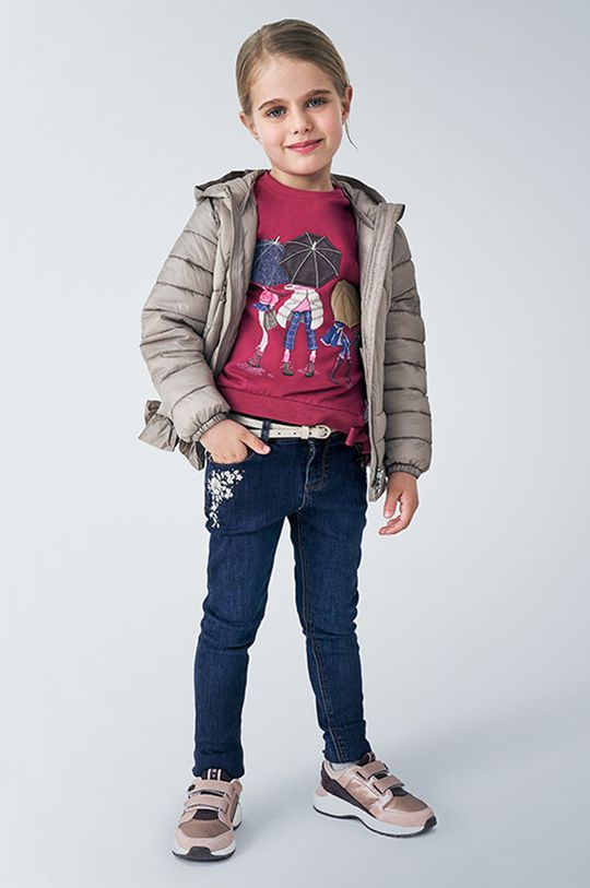 albastru metalizat Mayoral - Jeans copii 92-134 cm De fete