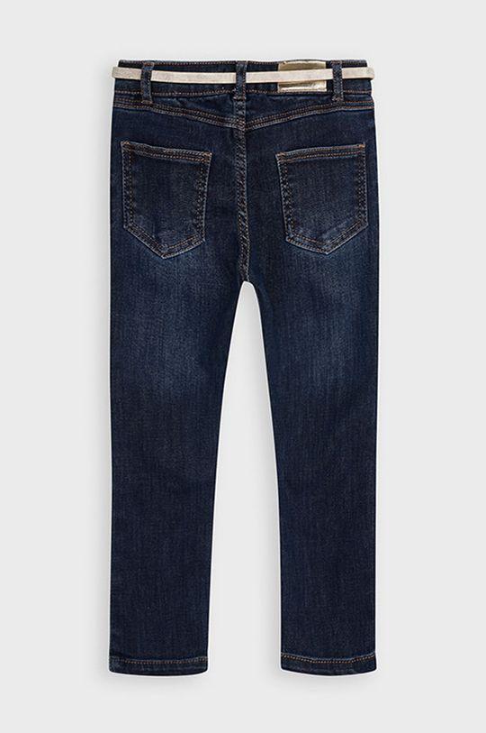 Mayoral - Jeans copii 92-134 cm  Materialul de baza: 84% Bumbac, 2% Elastan, 14% Poliester  Alte materiale: 100% Poliuretan