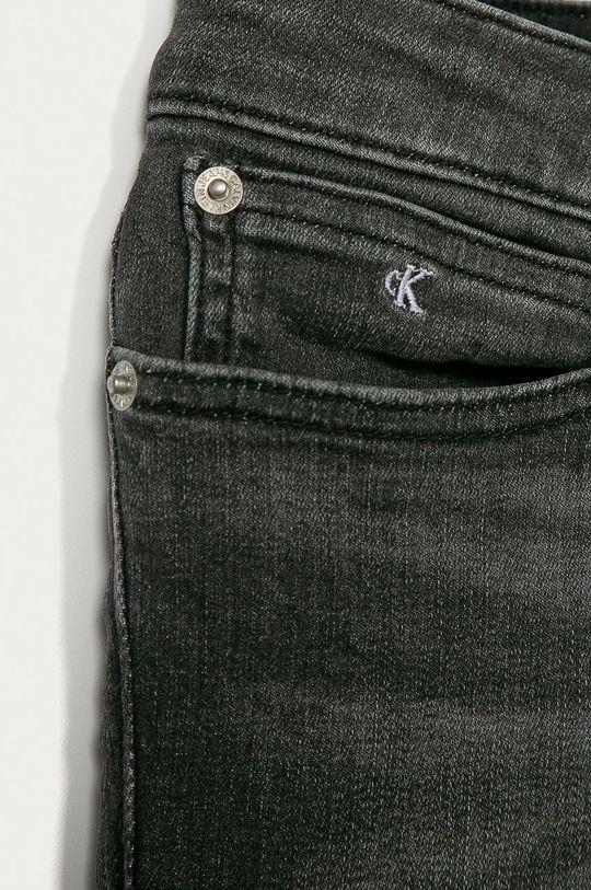 Calvin Klein Jeans - Dětské rifle 140-176 cm šedá