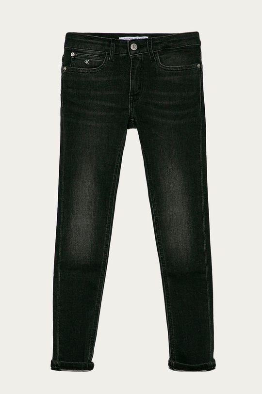 sivá Calvin Klein Jeans - Detské rifle 140-176 cm Dievčenský